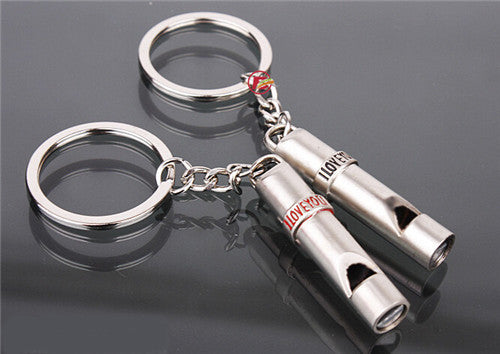 Whistles Couple - Pairs Keychain