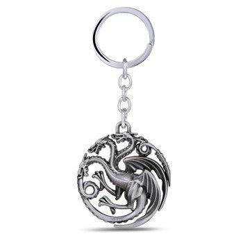 Targaryen dragon Sigil Keychain Keychain Buy top quality Targaryen dragon Sigil Keychain Keychain online in India at low price. get free shipping all across India Only at  Dot Aero