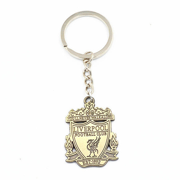 Liverpool LFC Football Club Logo Metal keychain