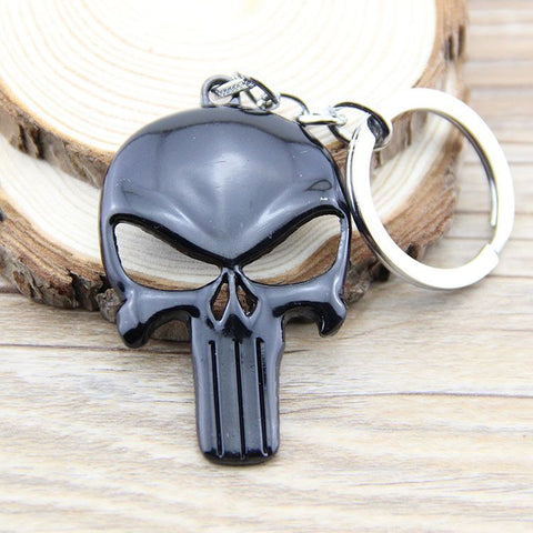 Punisher Skull Keychain Keychain Buy top quality Punisher Skull Keychain Keychain online in India at low price. get free shipping all across India Only at  Dot Aero
