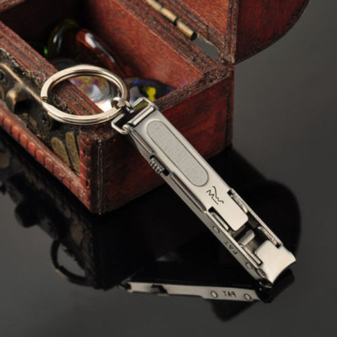 EDC Ultra-thin Foldable Nail Clippers / Cutter Keychain Keychain Buy top quality EDC Ultra-thin Foldable Nail Clippers / Cutter Keychain Keychain online in India at low price. get free shipping all across India Only at  Dot Aero