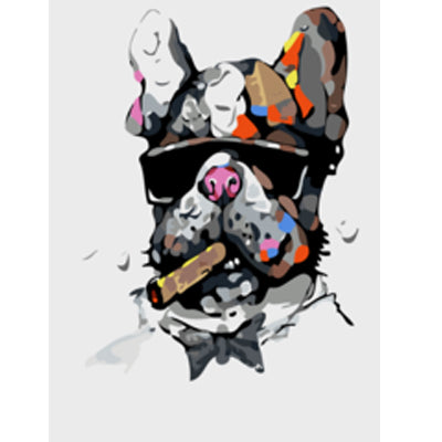 Swag Lord Abstract Animal Painting By Numbers Kit
