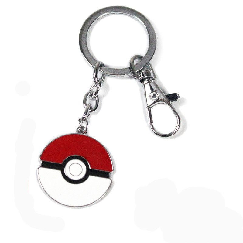 Pocket Monster Pokemon Poke Ball Keychain