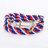 Rope Anchor Charm Bracelet (19 Colours) Bracelet Buy top quality Rope Anchor Charm Bracelet (19 Colours) Bracelet online in India at low price. get free shipping all across India Only at  Dot Aero
