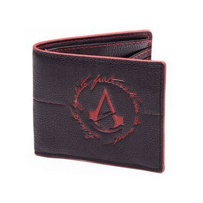 Assassins Creed Leather Wallet (Red)