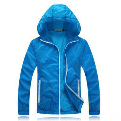 Minimalist Waterproof Windbreaker Jacket (12 Colors)