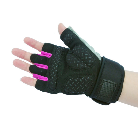 Tactical Sports Fitness Weight Lifting Wrist Wrap Gym Gloves