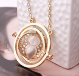 Harry Potter Time Turner Hourglass Necklace