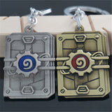 World of Warcraft Wow Hearthstone Heroes Keychain
