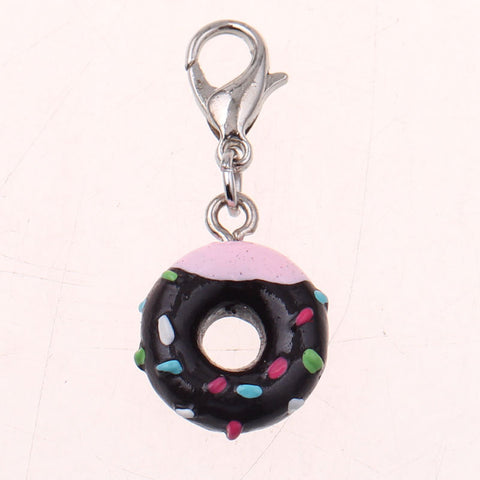 Chocolate Doughnut Lovers Keychain Keychain Buy top quality Chocolate Doughnut Lovers Keychain Keychain online in India at low price. get free shipping all across India Only at  Dot Aero