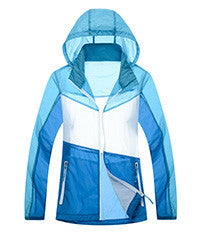DA Contrast Ultra-Light Waterproof Quick-dry Hoodie / Jacket