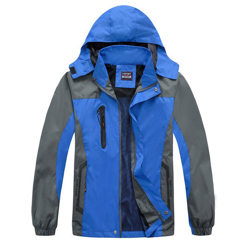 Vega Nox Waterproof Windbreaker Hooded Jacket
