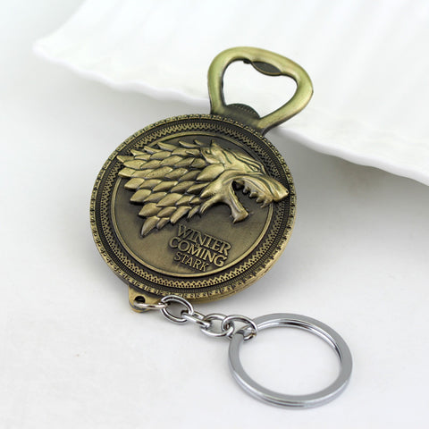 House Stark Sigil Bottle Opener Metal Keychain Keychain Buy top quality House Stark Sigil Bottle Opener Metal Keychain Keychain online in India at low price. get free shipping all across India Only at  Dot Aero