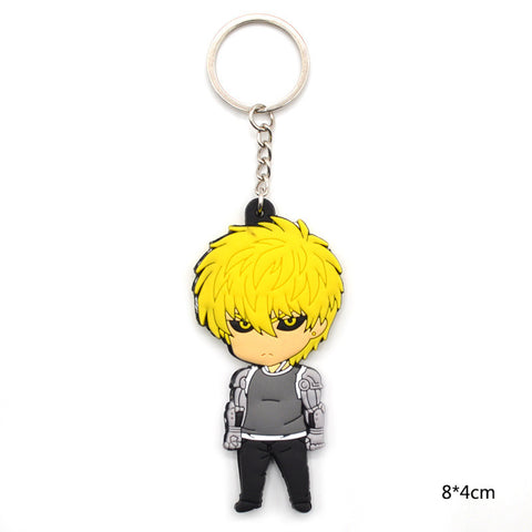 One Punch Man Characters Saitama Genos Tatsumaki Silicone/Rubber Keychain Keychain Buy top quality One Punch Man Characters Saitama Genos Tatsumaki Silicone/Rubber Keychain Keychain online in India at low price. get free shipping all across India Only at  Dot Aero