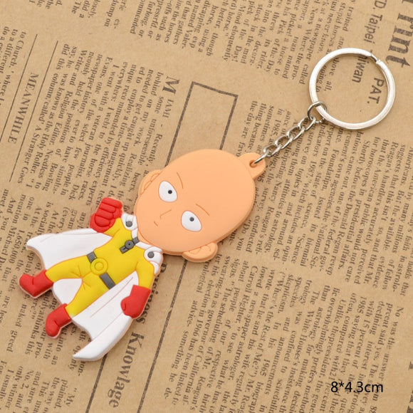 One Punch Man Saitama PVC Keychain Keychain Buy top quality One Punch Man Saitama PVC Keychain Keychain online in India at low price. get free shipping all across India Only at  Dot Aero