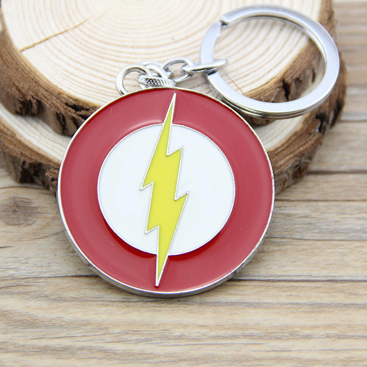The Flash Logo Red Keychain