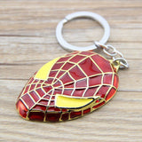 Marvel Spiderman Mask Metal Keychain