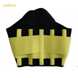 Neoprene Lumbar Waist Support Belt Unisex