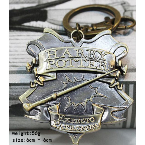 Harry Potter Expecto Patronum Metal Keychain Keychain Buy top quality Harry Potter Expecto Patronum Metal Keychain Keychain online in India at low price. get free shipping all across India Only at  Dot Aero