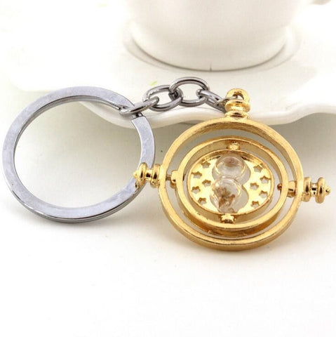 Harry Potter Time Turner Gold Plated Keychain Keychain Buy top quality Harry Potter Time Turner Gold Plated Keychain Keychain online in India at low price. get free shipping all across India Only at  Dot Aero