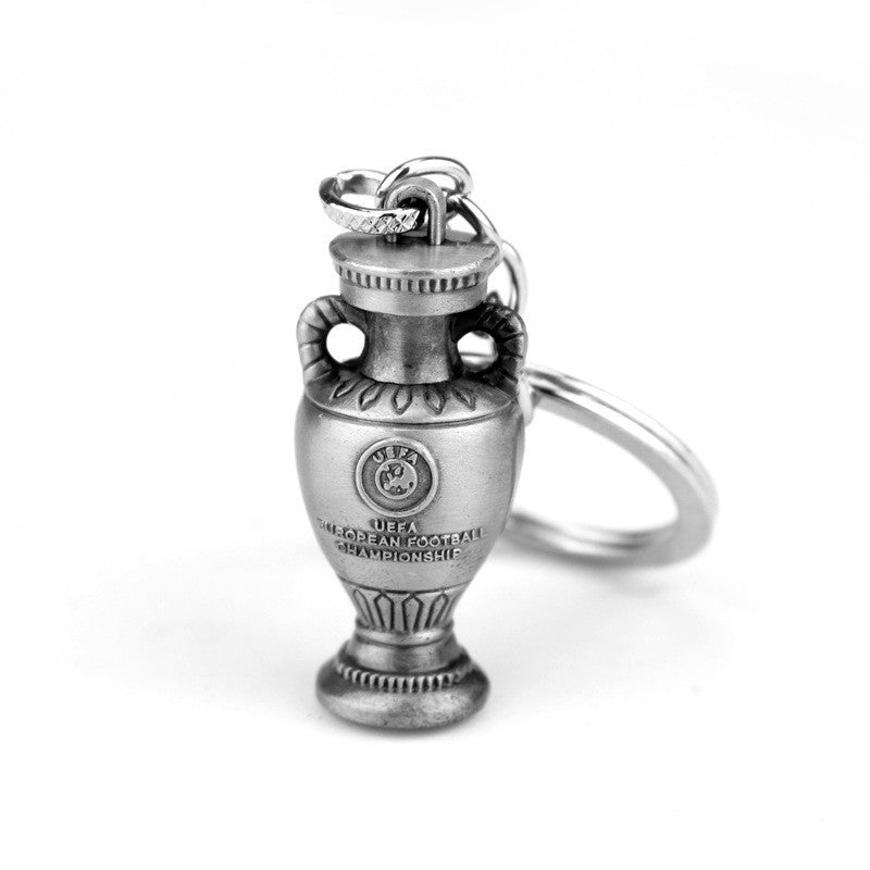 UEFA Champions League Trophy Cup Keychain