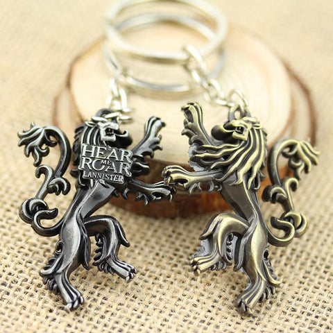 Game of Thrones House Lannister Keychain Keychain Buy top quality Game of Thrones House Lannister Keychain Keychain online in India at low price. get free shipping all across India Only at  Dot Aero