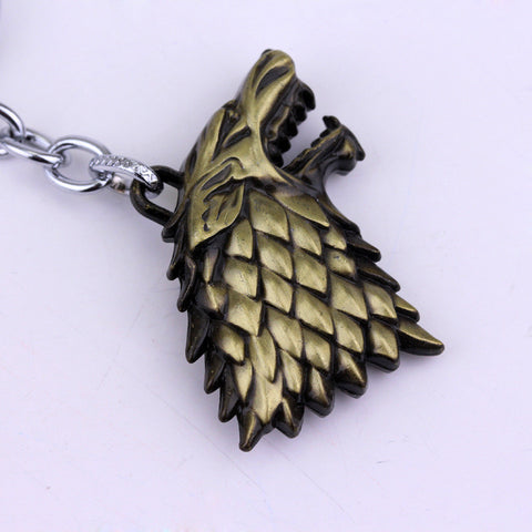 Game of thrones House Stark Keychain Keychain Buy top quality Game of thrones House Stark Keychain Keychain online in India at low price. get free shipping all across India Only at  Dot Aero