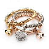 Gold Filled Charm Bracelets Set (9 Variants)
