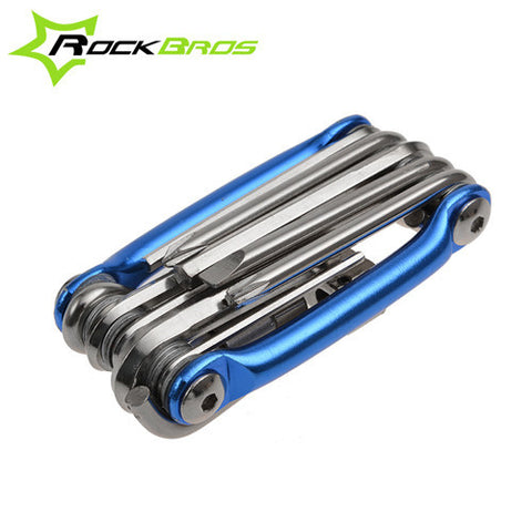 ROCKBROS 11 in 1 Mini Bicycle Repair Pocket Folding Tool Gadget Buy top quality ROCKBROS 11 in 1 Mini Bicycle Repair Pocket Folding Tool Gadget online in India at low price. get free shipping all across India Only at  Dot Aero