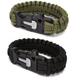 Paracord Survival Bracelet Wristband