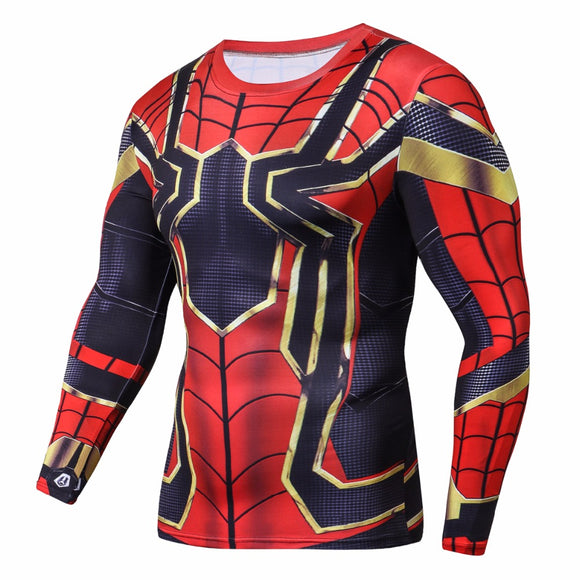 Iron Spider (Full Sleeves) Infinity War Compression Shirt