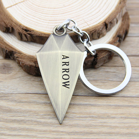 Green Arrow Keychain