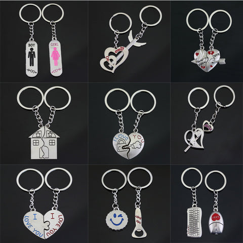 Couple's Keychains Set Keychain Buy top quality Couple's Keychains Set Keychain online in India at low price. get free shipping all across India Only at  Dot Aero