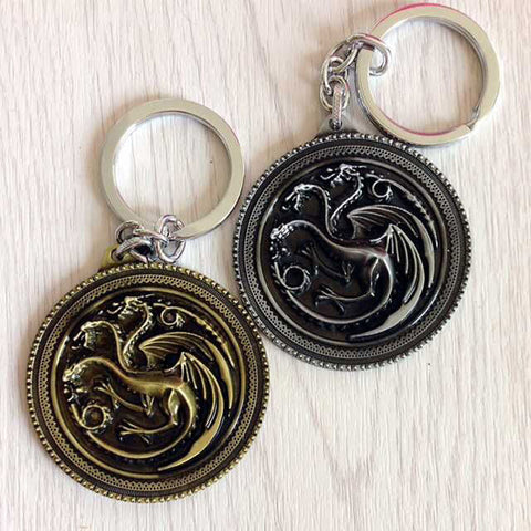 Targaryen dragon Sigil Keychains Keychain Buy top quality Targaryen dragon Sigil Keychains Keychain online in India at low price. get free shipping all across India Only at  Dot Aero