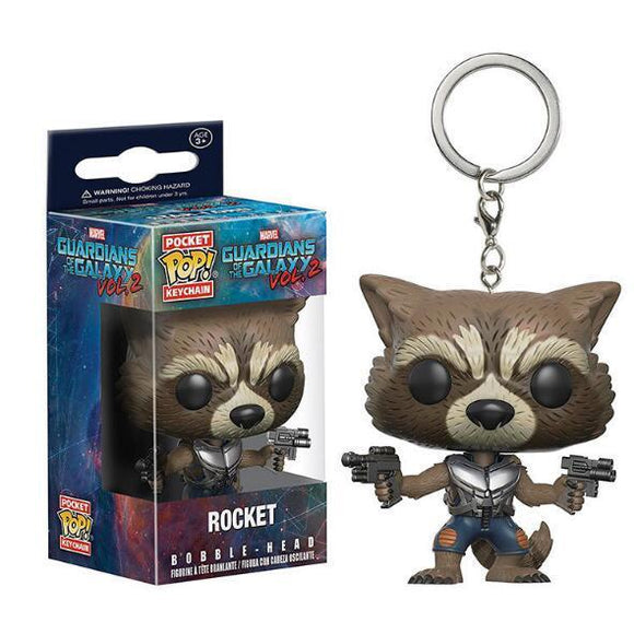 Raccoon POP Keychain