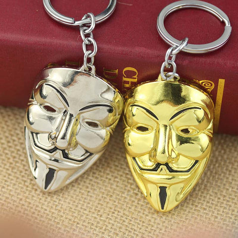 ANONYMOUS Mask Keychain ( 4 Colors ) Keychain Buy top quality ANONYMOUS Mask Keychain ( 4 Colors ) Keychain online in India at low price. get free shipping all across India Only at  Dot Aero