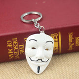 ANONYMOUS Mask Keychain ( 4 Colors )
