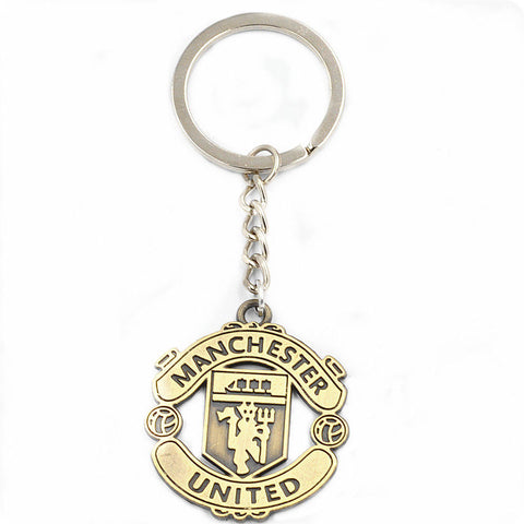 Manchester United MUFC Football Club Logo Metal keychain