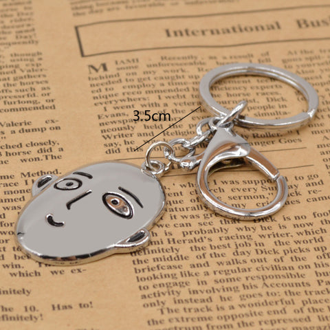 One Punch Man Saitama Silver Metal Keychain Keychain Buy top quality One Punch Man Saitama Silver Metal Keychain Keychain online in India at low price. get free shipping all across India Only at  Dot Aero