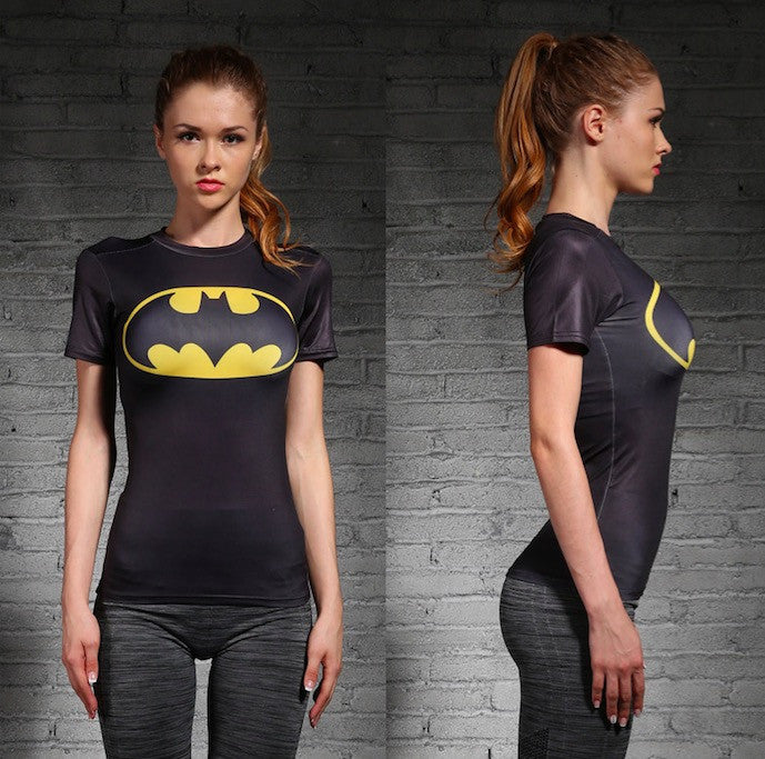Batman Women Compression Shirt Compression Shirt Buy top quality Batman Women Compression Shirt Compression Shirt online in India at low price. get free shipping all across India Only at  Dot Aero