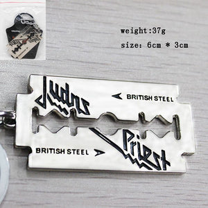 Judas Priest Metal Keychain Keychain Buy top quality Judas Priest Metal Keychain Keychain online in India at low price. get free shipping all across India Only at  Dot Aero