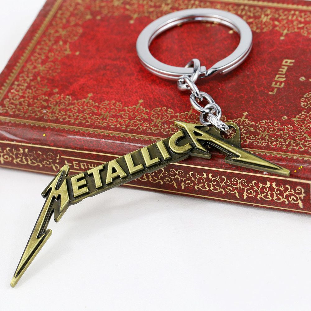 Metallica MetalKeychain Keychain Buy top quality Metallica MetalKeychain Keychain online in India at low price. get free shipping all across India Only at  Dot Aero