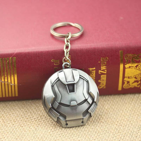 Iron Man Hulkbuster Mask Keychain (Silver) Keychain Buy top quality Iron Man Hulkbuster Mask Keychain (Silver) Keychain online in India at low price. get free shipping all across India Only at  Dot Aero