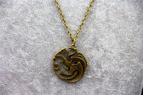 Targaryen Dragon Badge Necklace Necklace Buy top quality Targaryen Dragon Badge Necklace Necklace online in India at low price. get free shipping all across India Only at  Dot Aero