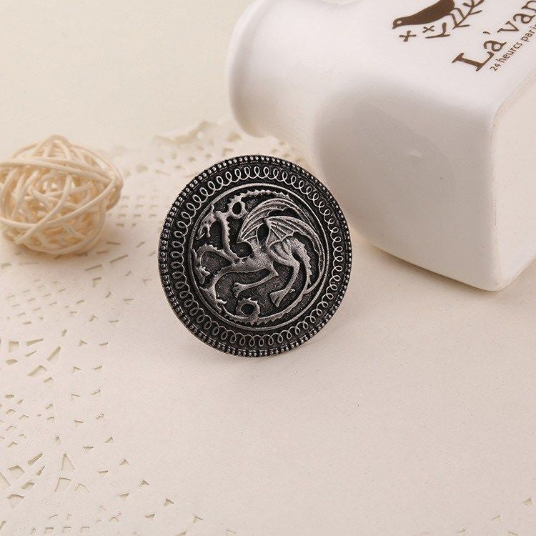 Targaryen Dragon Badge Brooch Brooch Buy top quality Targaryen Dragon Badge Brooch Brooch online in India at low price. get free shipping all across India Only at  Dot Aero