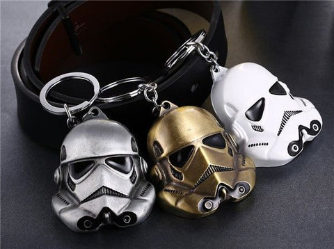 Stormtrooper Mask Metal Keychain Keychain Buy top quality Stormtrooper Mask Metal Keychain Keychain online in India at low price. get free shipping all across India Only at  Dot Aero
