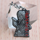 Iron Maiden Death Logo Keychain