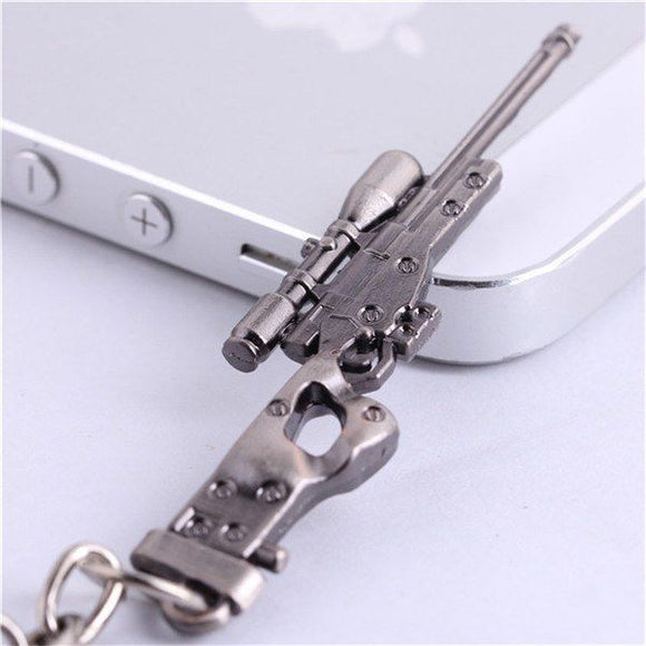 Magnum sniper rifle L118A Gun Keychain Keychain Buy top quality Magnum sniper rifle L118A Gun Keychain Keychain online in India at low price. get free shipping all across India Only at  Dot Aero