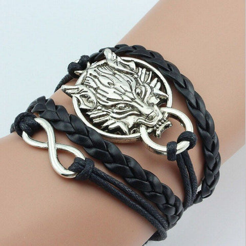 Dragon Leather Bracelet Black Bracelet Buy top quality Dragon Leather Bracelet Black Bracelet online in India at low price. get free shipping all across India Only at  Dot Aero