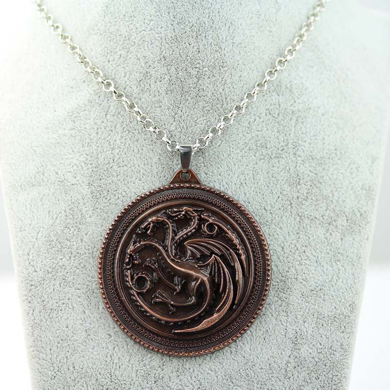House Targaryen Necklace (Dark) Necklace Buy top quality House Targaryen Necklace (Dark) Necklace online in India at low price. get free shipping all across India Only at  Dot Aero